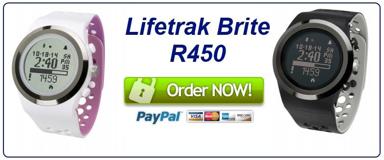 Lifetrak Brite R450 order