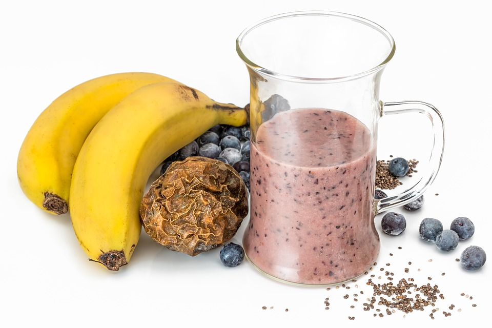 Chia seeds smoothie